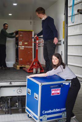 Transport of scientific equipment