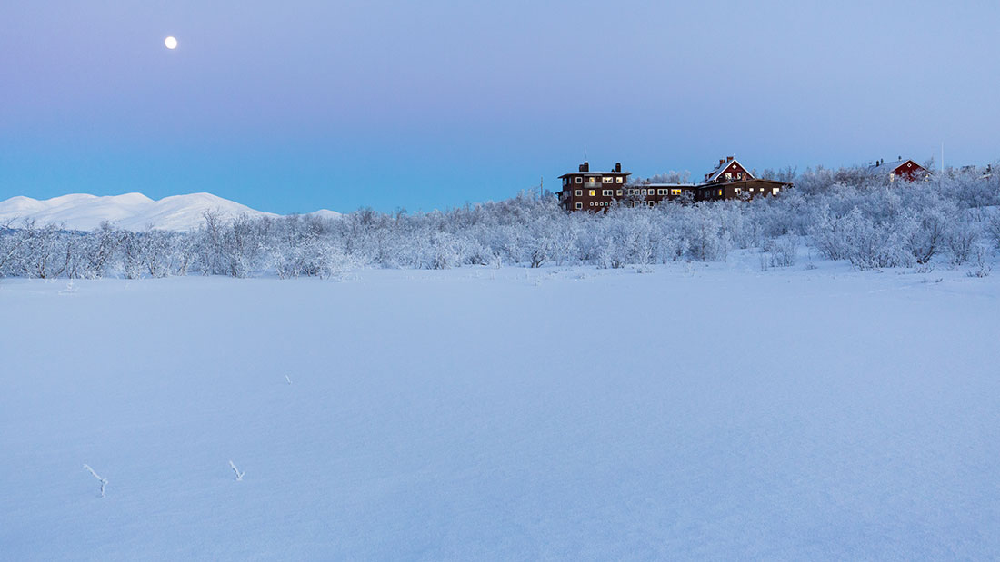The Abisko Research Station (photo: Lars Lehnert, SPRS)